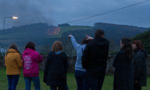 Burning the Bear in Newburgh.