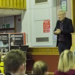 'If you don't study….you shall not pass' – Actor Sir Ian McKellen pays Kirkcaldy High School a visit