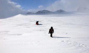 St Andrews scientist awarded Polar Medal
