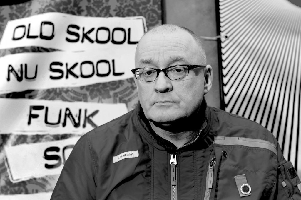 Portrait of Stuart Cosgrove before Scottish Cup Final between Dundee Utd and St Johnstone in 2014. Stuart is a massive fan of the Perth club.