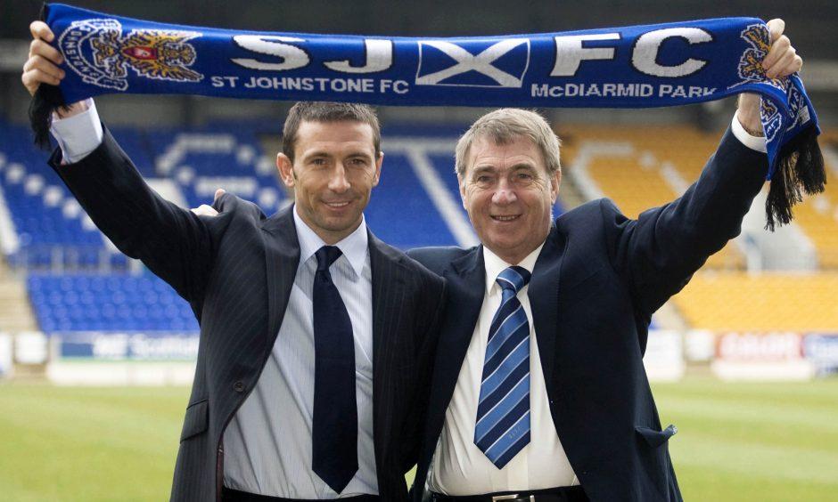 Geoff Brown didn't need a director of football to work with Derek McInnes.