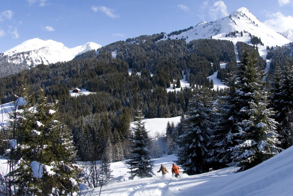 Skiing in Morzine is available at all levels.