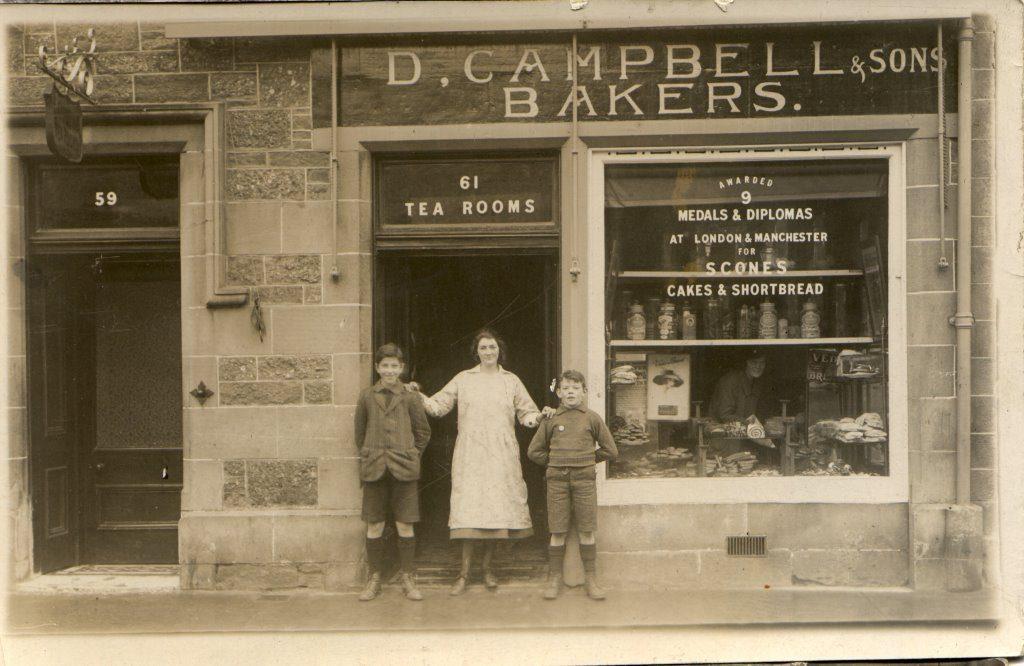 The old shop in Callander.