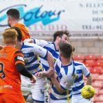 Dundee United goal hero Mark Durnan admits he got lucky