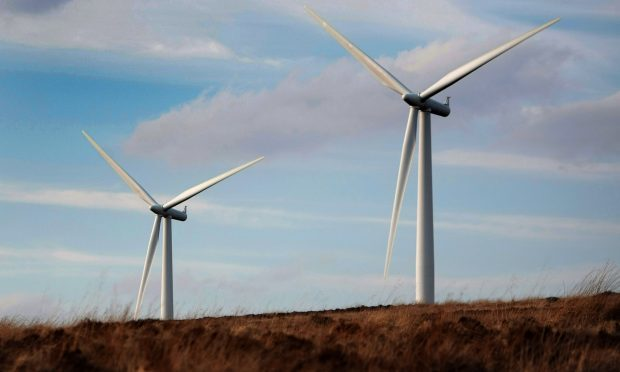 Drumderg wind farm which is adjacent to the site of the Green Burn proposal.