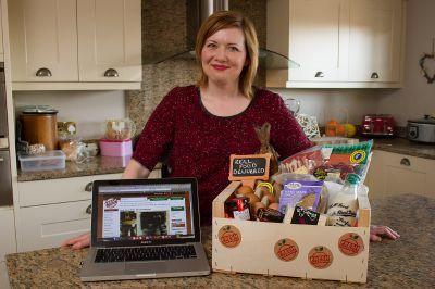 Jillian McEwan of  Fresh Food Express, Inverkeilor Pic Paul Reid