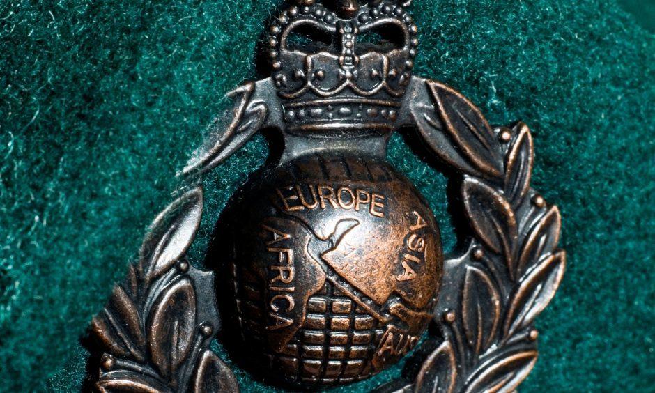 Royal Marine Beret Badge