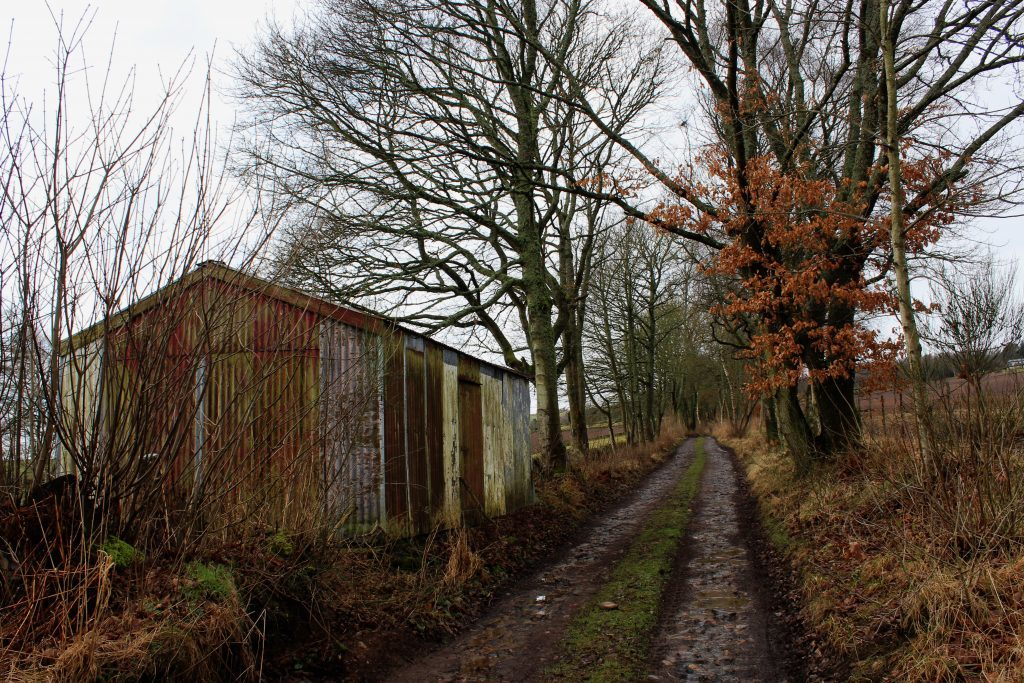 3 - An old tin shed by the drove road - James Carron, Take a Hike