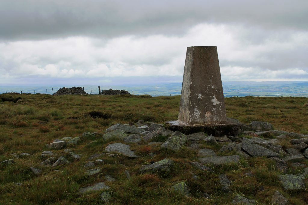 3 - Trig point and cairns on the summit of Cat Law - James Carron, Take a Hike