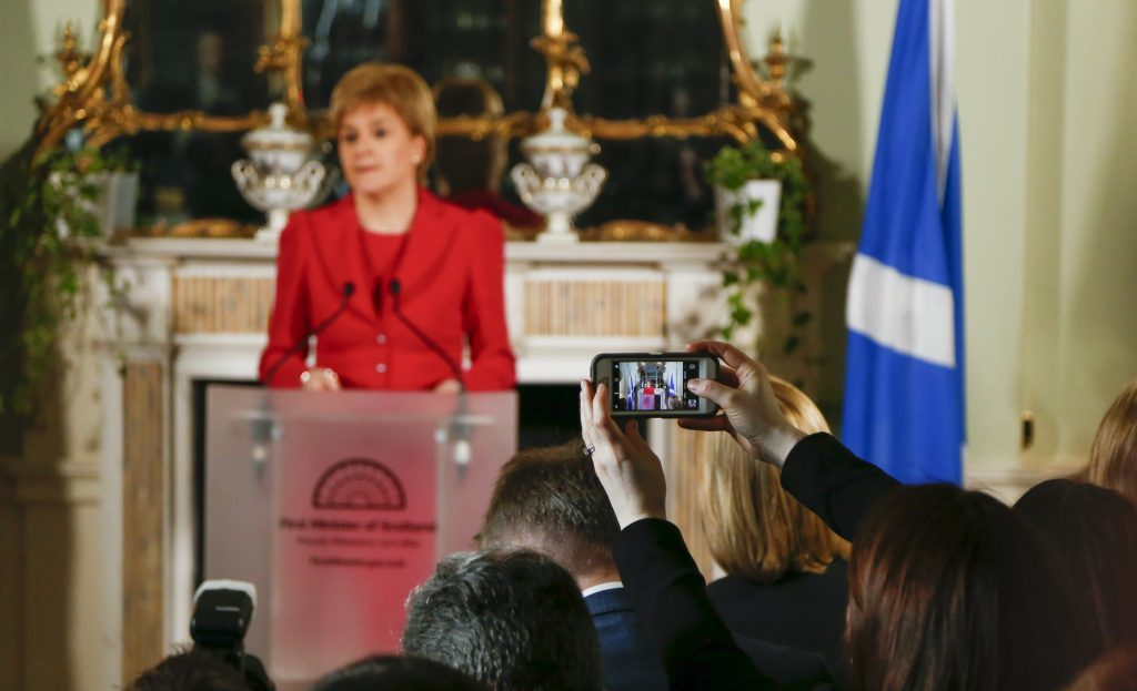Nicola Sturgeon confirms her plans to seek a second Scottish independence referendum.