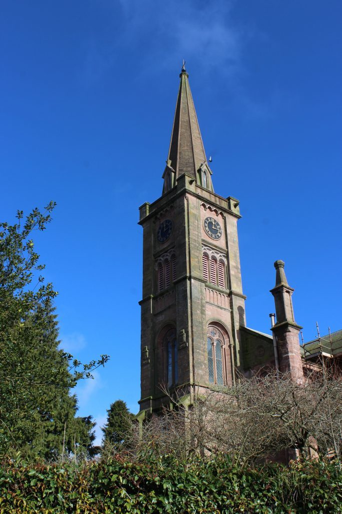 4 - Alyth Parish Church - James Carron, Take a Hike