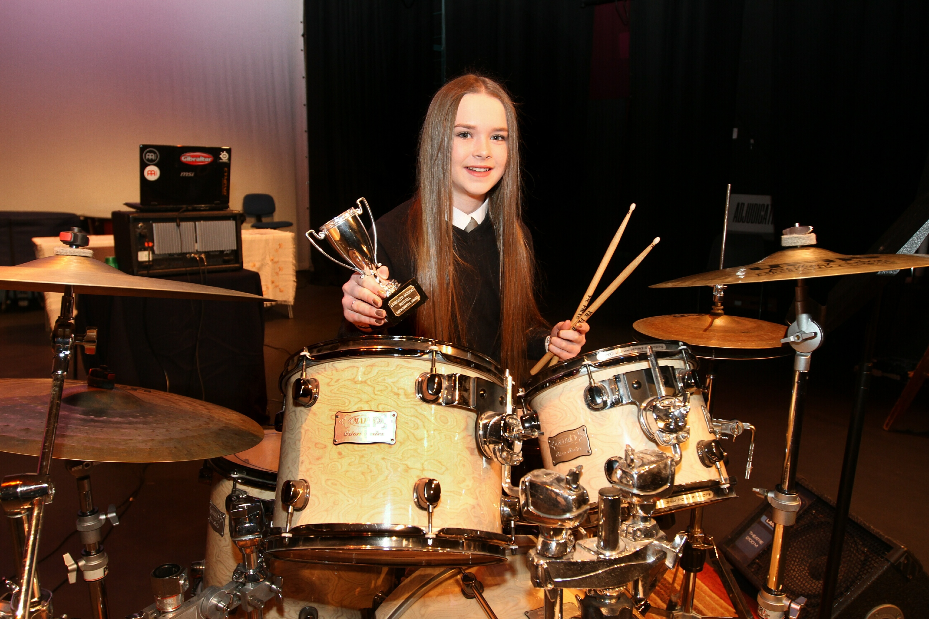 Ami Conchie  from Carnoustie High School was a winner this year.