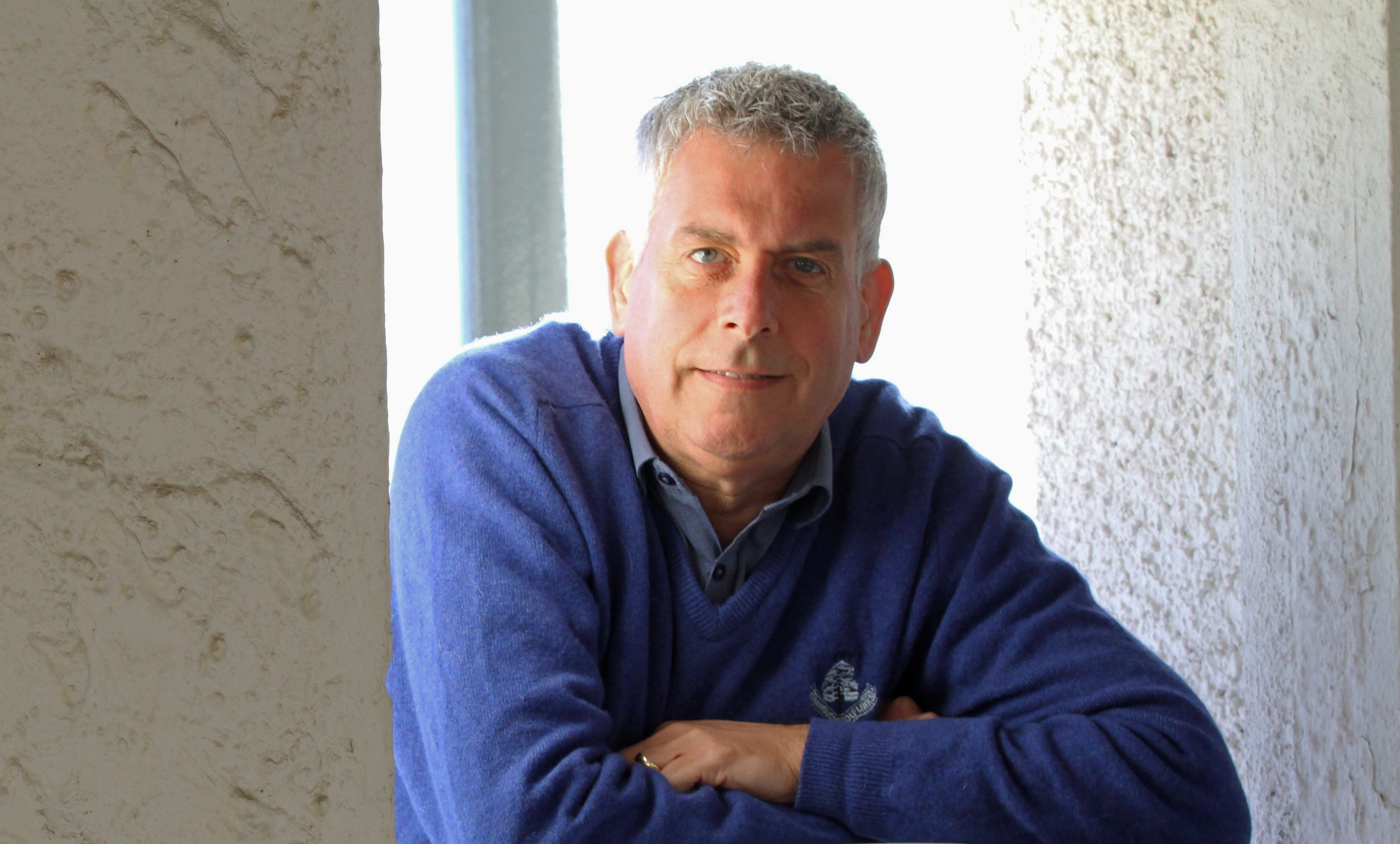 Carnoustie councillor Brian Boyd.