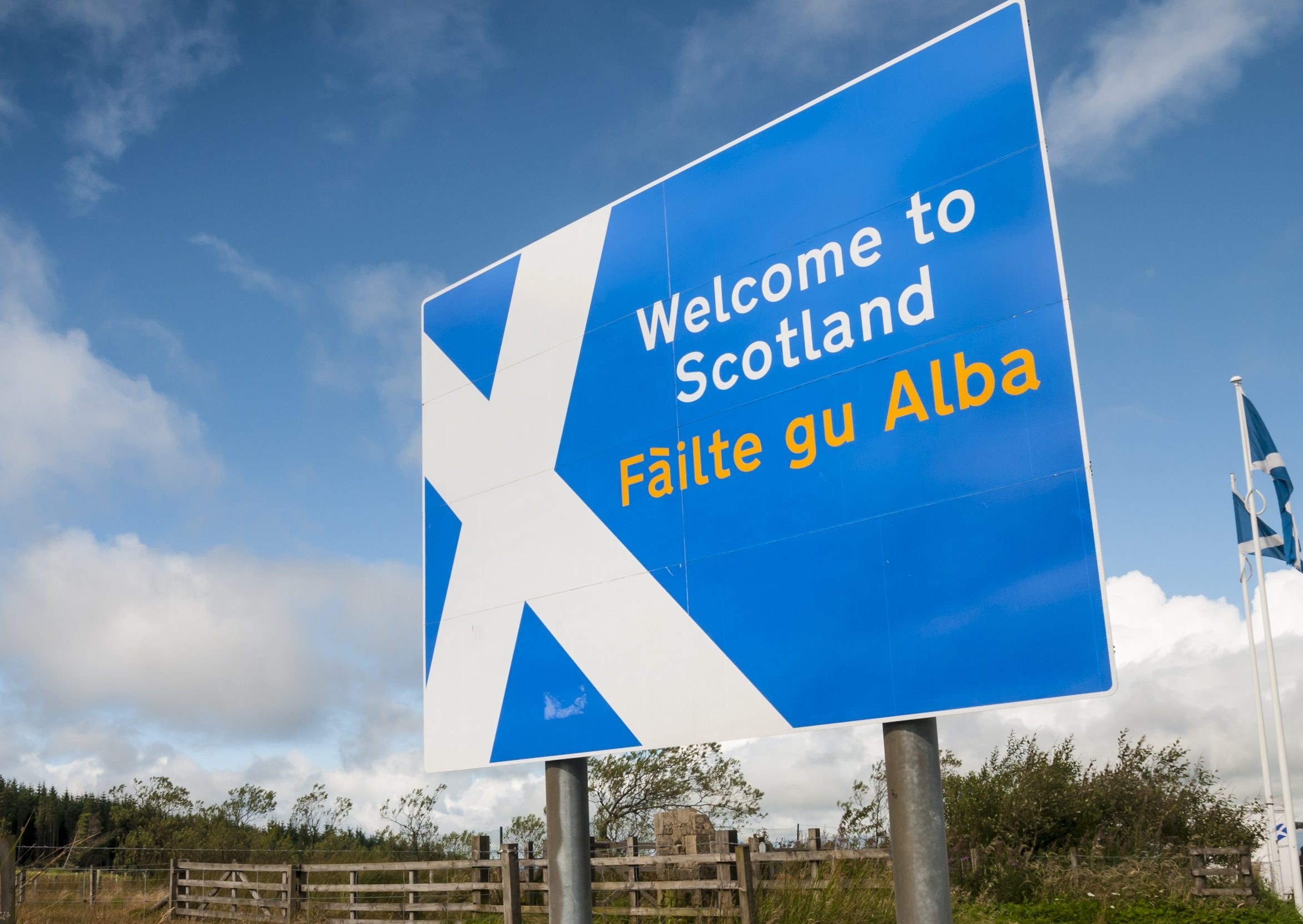 Our correspondent says the England/Scotland border could be where the EU starts and ends.