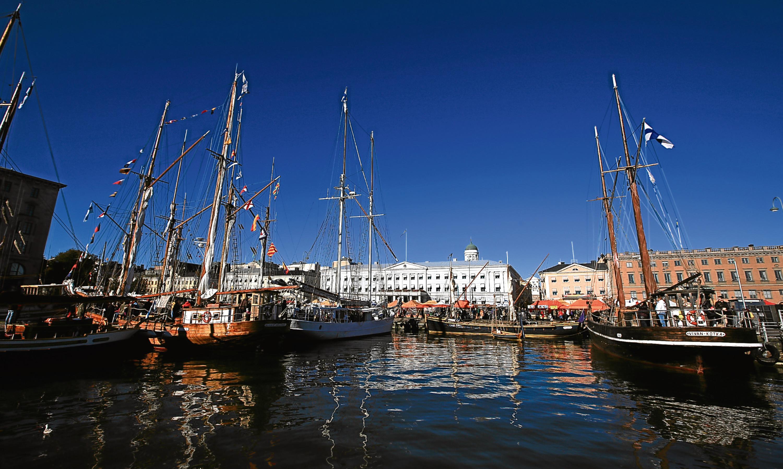Helsinki City Harbour.