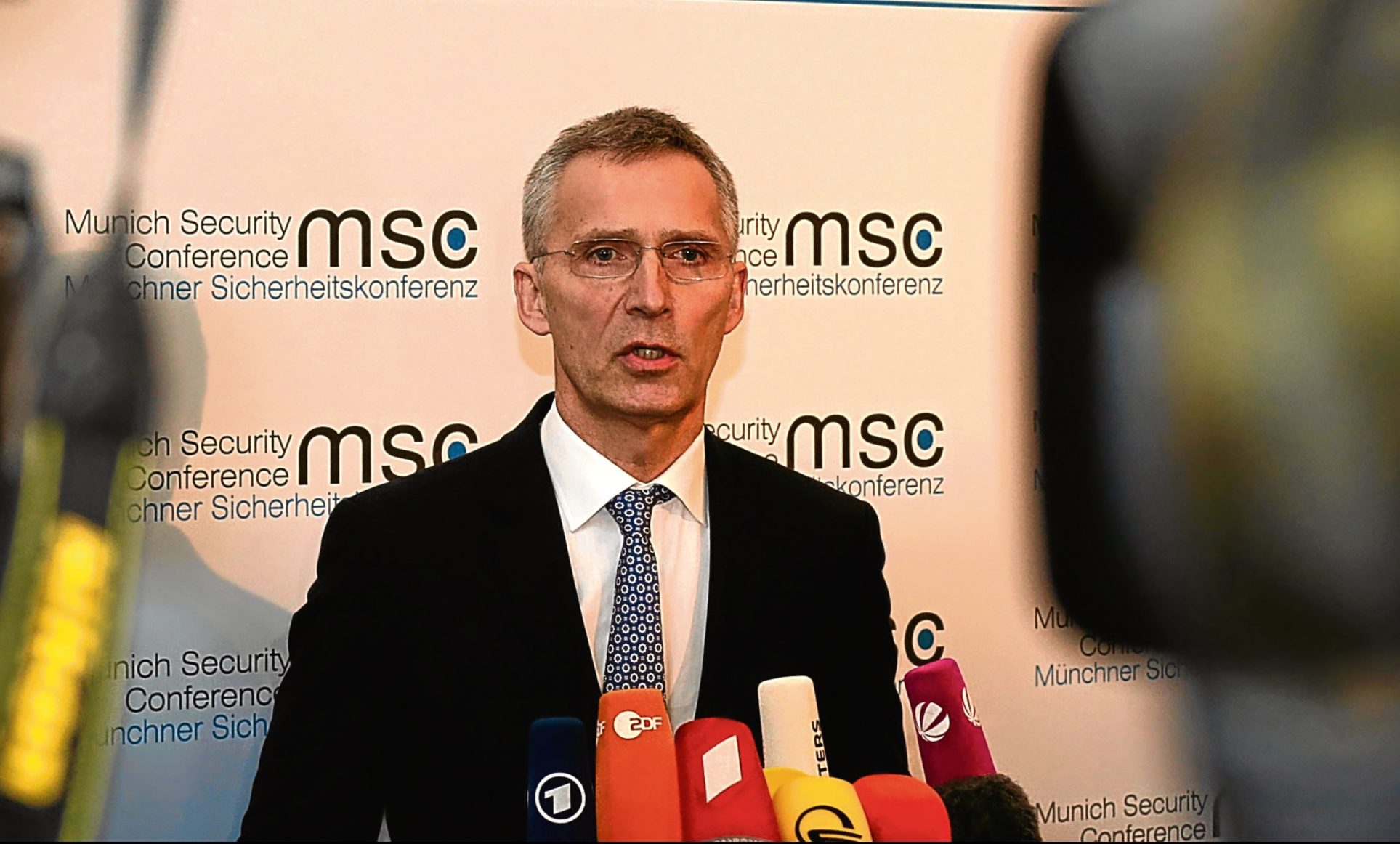 Jens Stoltenberg, Secretary General of Nato.