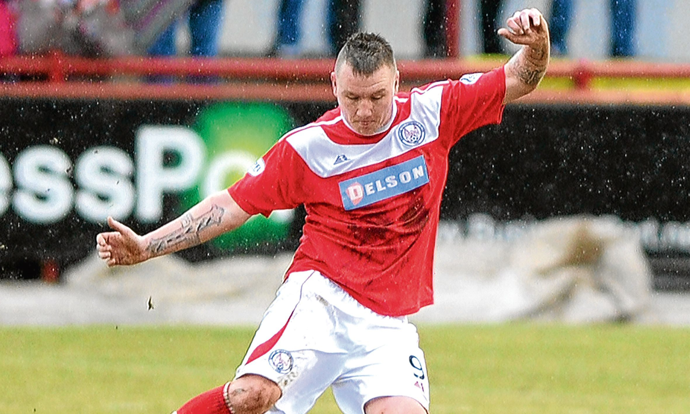 Andy Jackson of Brechin.