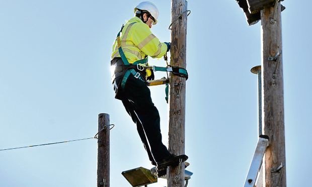 BT Openreach is recruiting for trainee engineers in Scotland