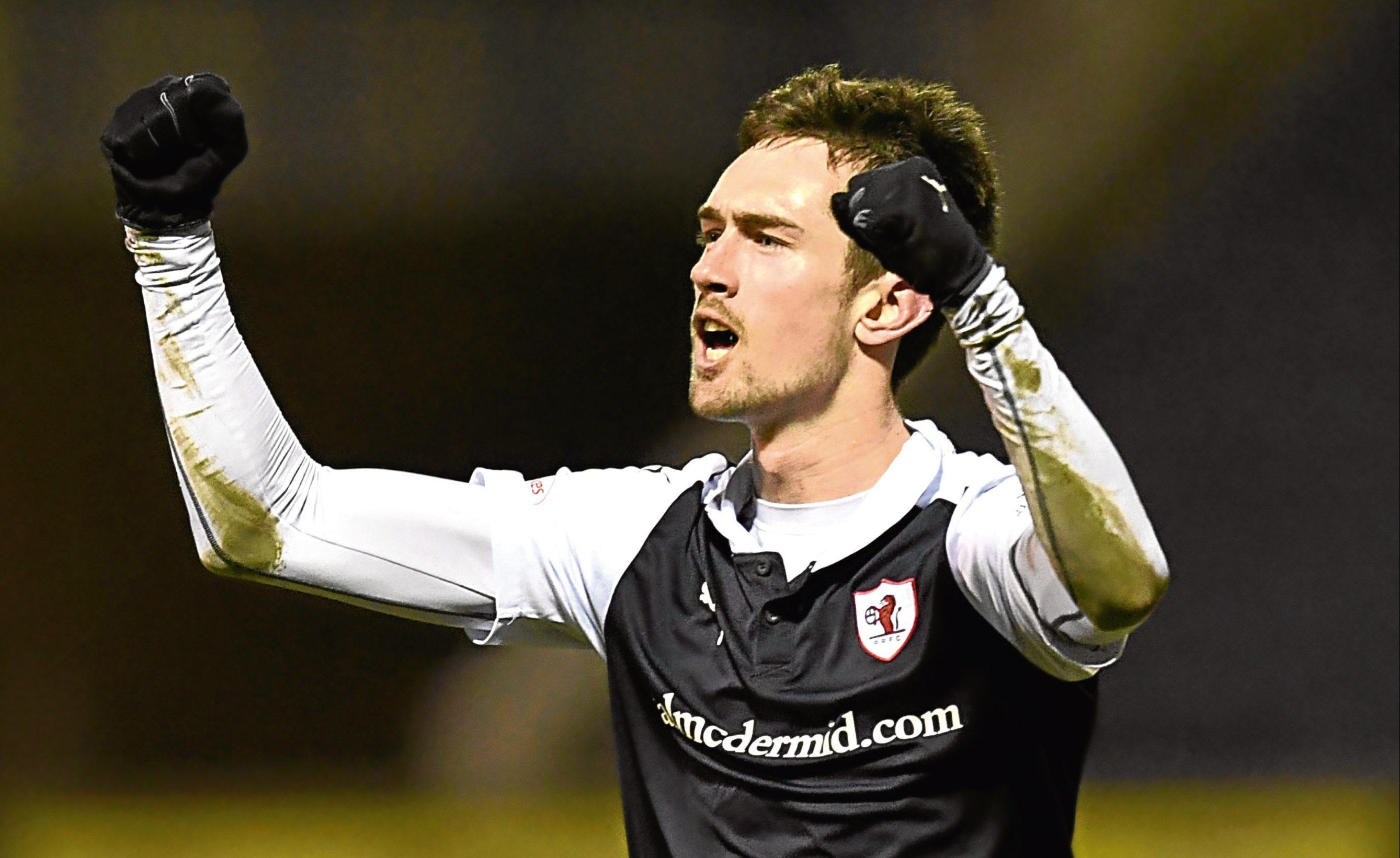 Raith Rovers' Ryan Hardie.