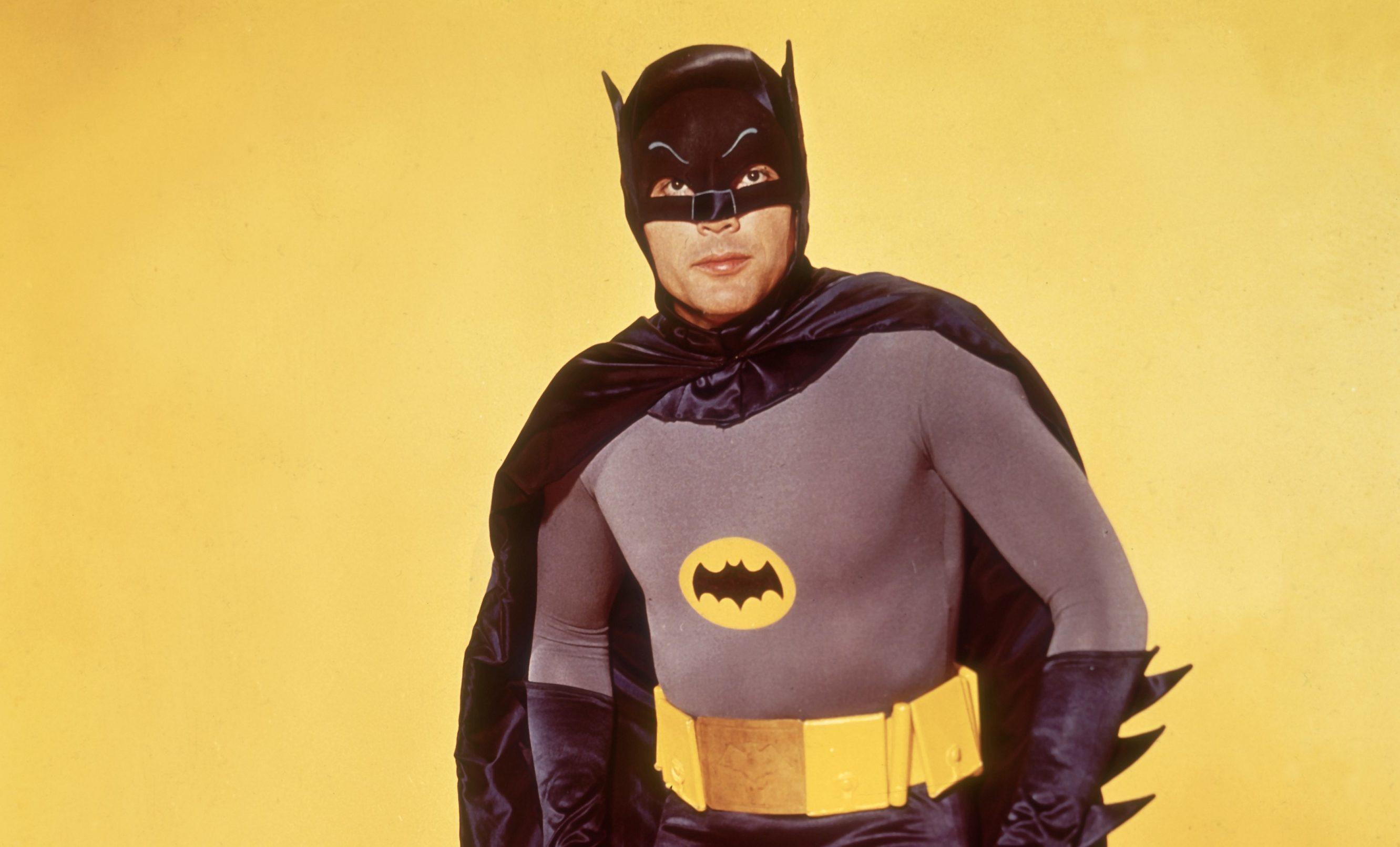 Adam West as Batman for the 1966 movie.