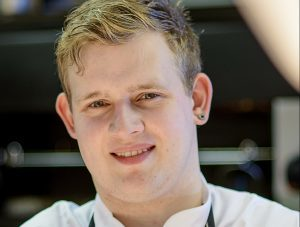 Tayberry chef Adam Newth.