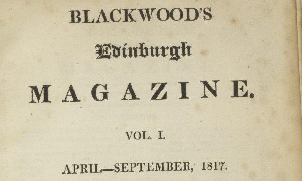 Blackwood's-magazine-1817