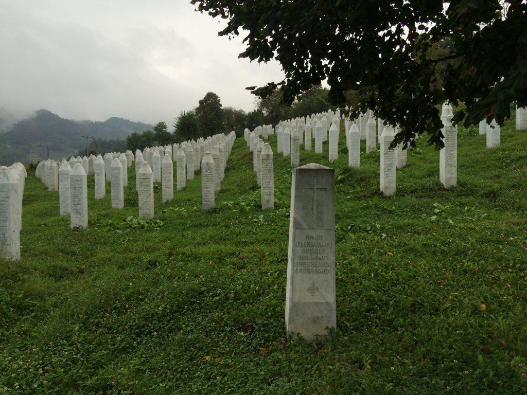 A Balkan war cemetery