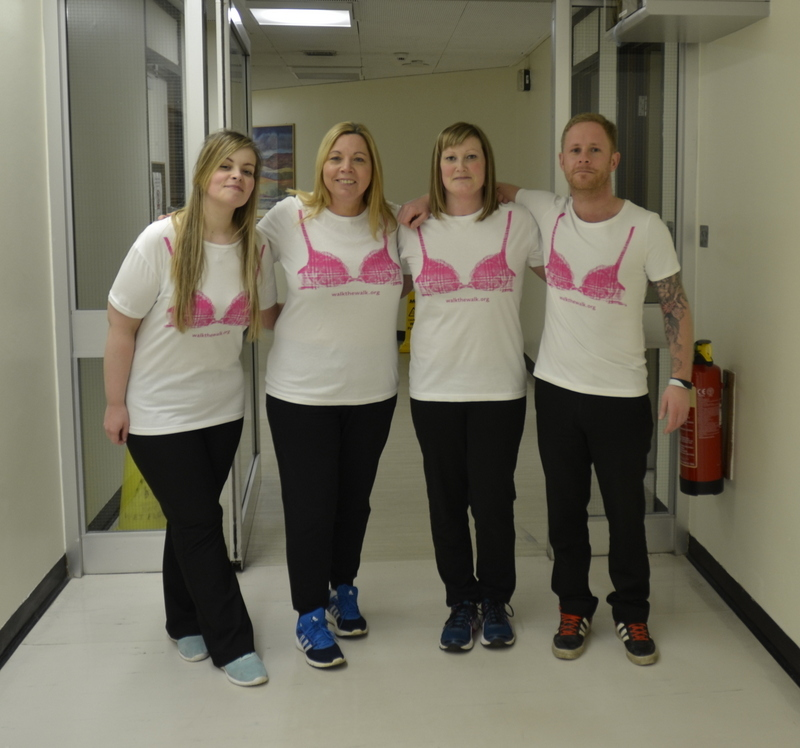 Team DoLeRoHa (from L-R): Roisin Mollison, Doreen Fechlie, Heather Anderson and Lee Smith.