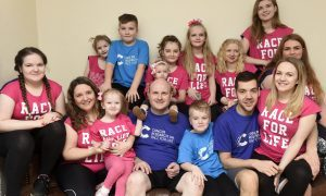 Scotland's superfamily, Emma and Roy Hann have been chosen to help launch in Scotland Race for Life Family 5K- a Race for Life event which for the first time allows MEN to take part.