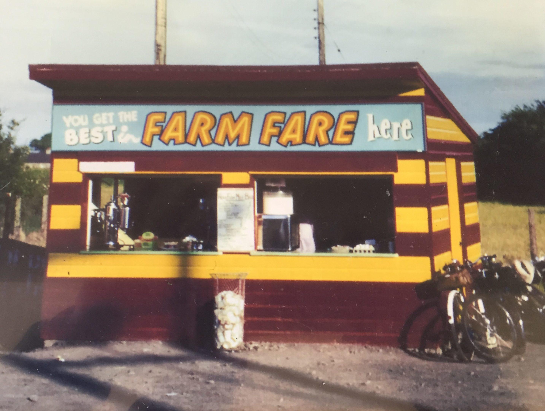The Horn Milk Bar in 1960.