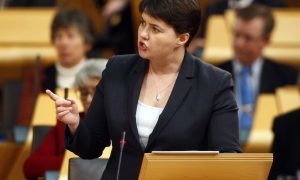 Ruth Davidson forced to listen to testimony of sex attack survivor amid 'rape clause' anger