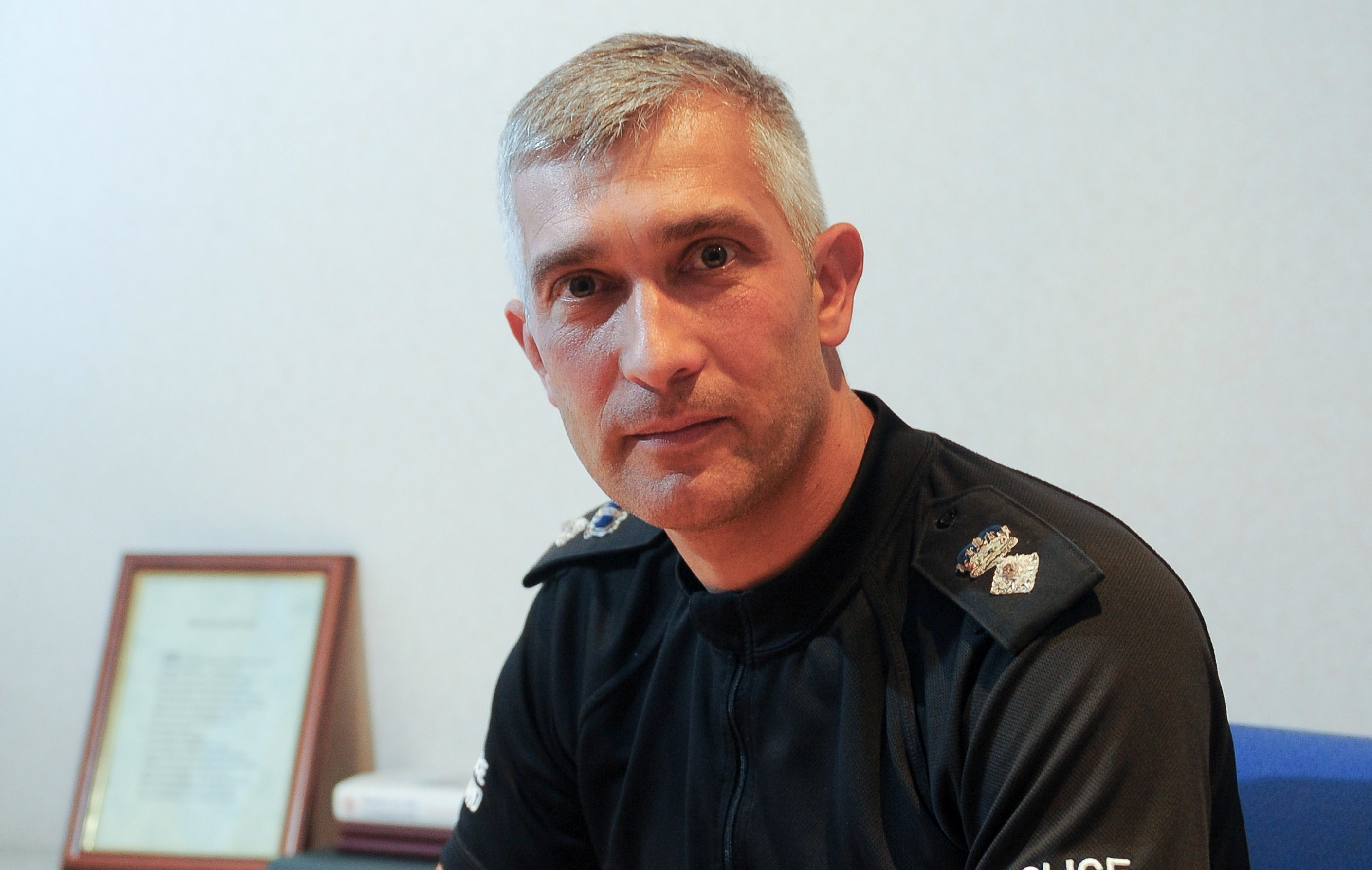Chief Superintendent Paul Anderson.