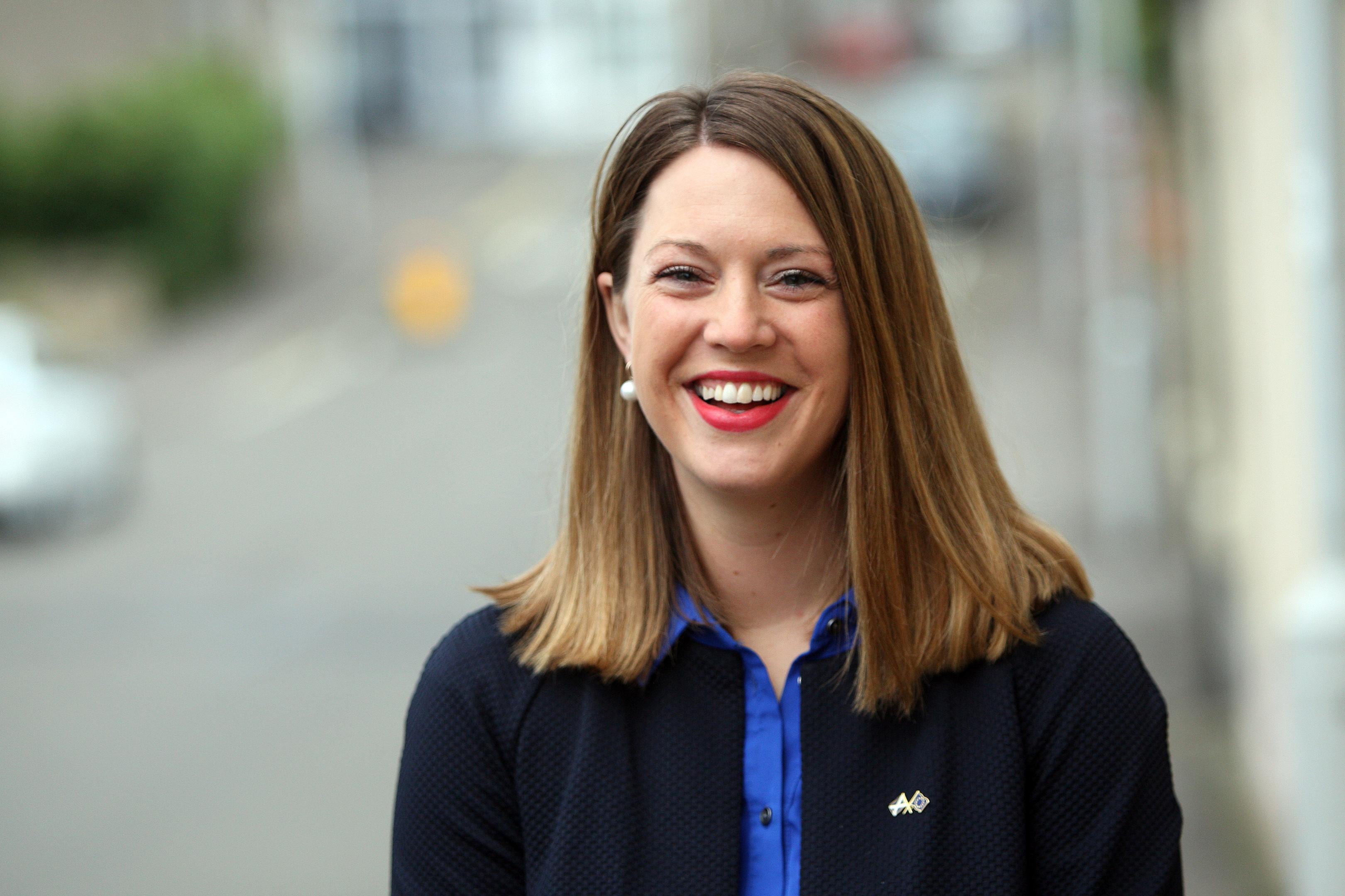 Glenrothes MSP Jenny Gilruth