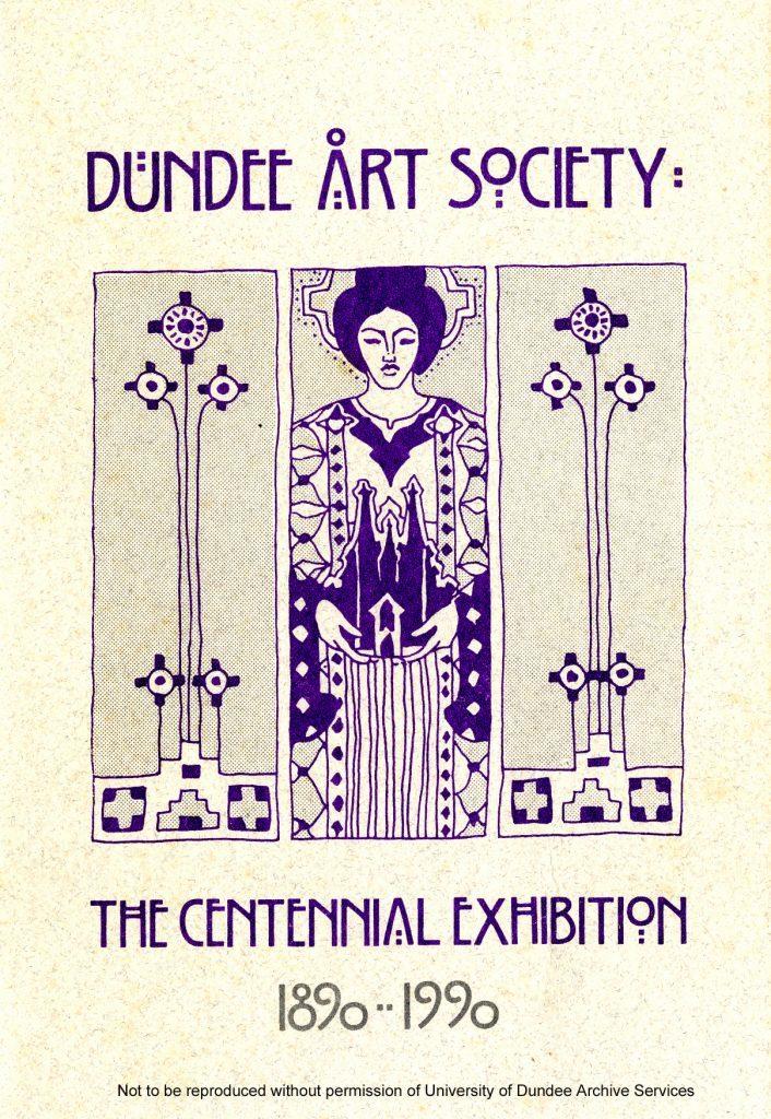 MS 345-5 Dundee Art Society catalogue, 1990