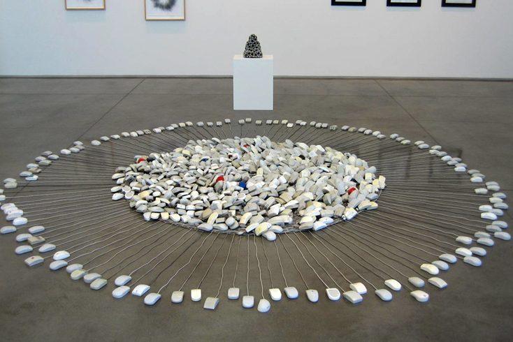 The Mouse Mandala by Joseph Delappe