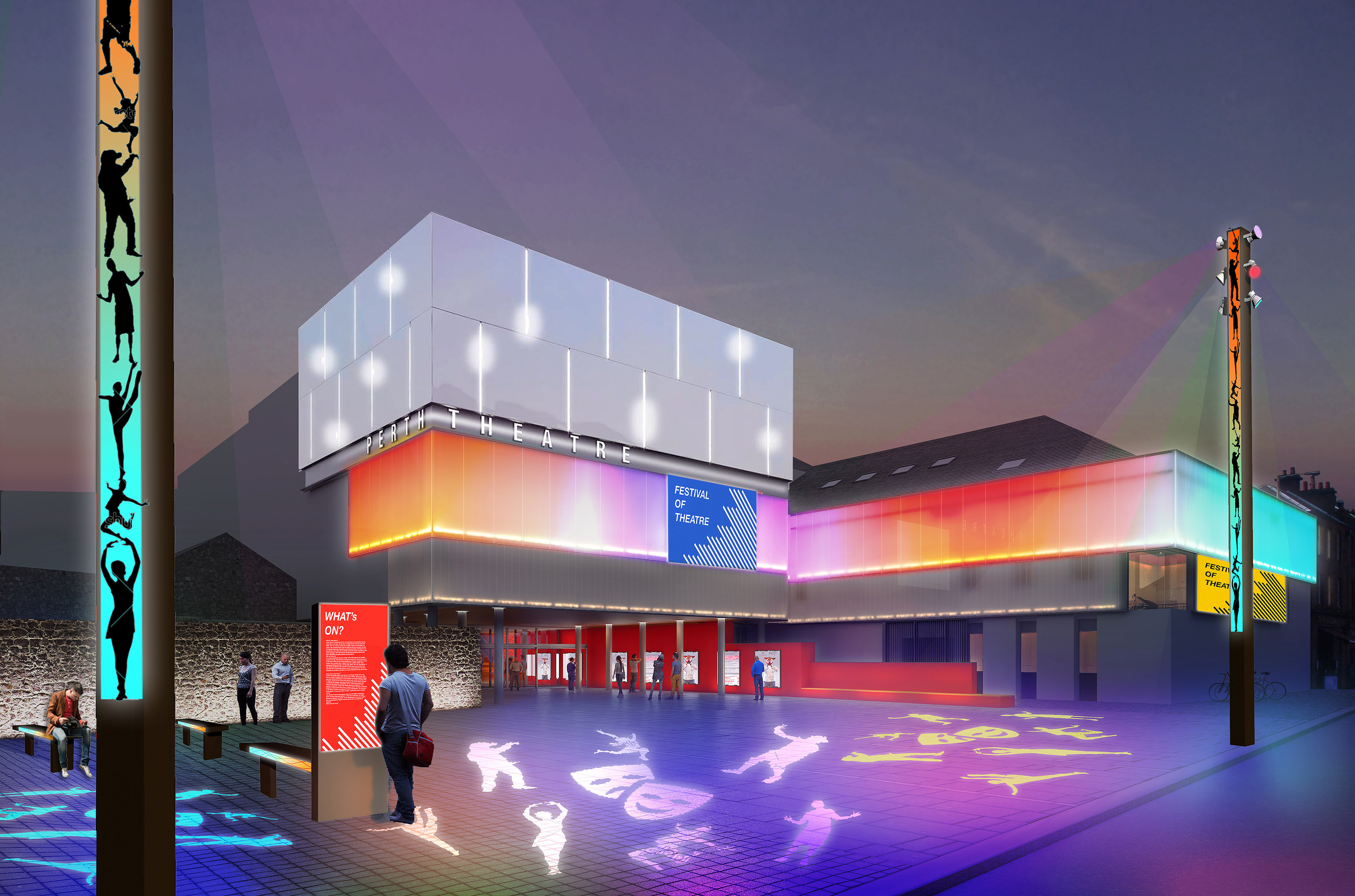 The refurbishment and expansion of Perth Theatre is now in its final stages.