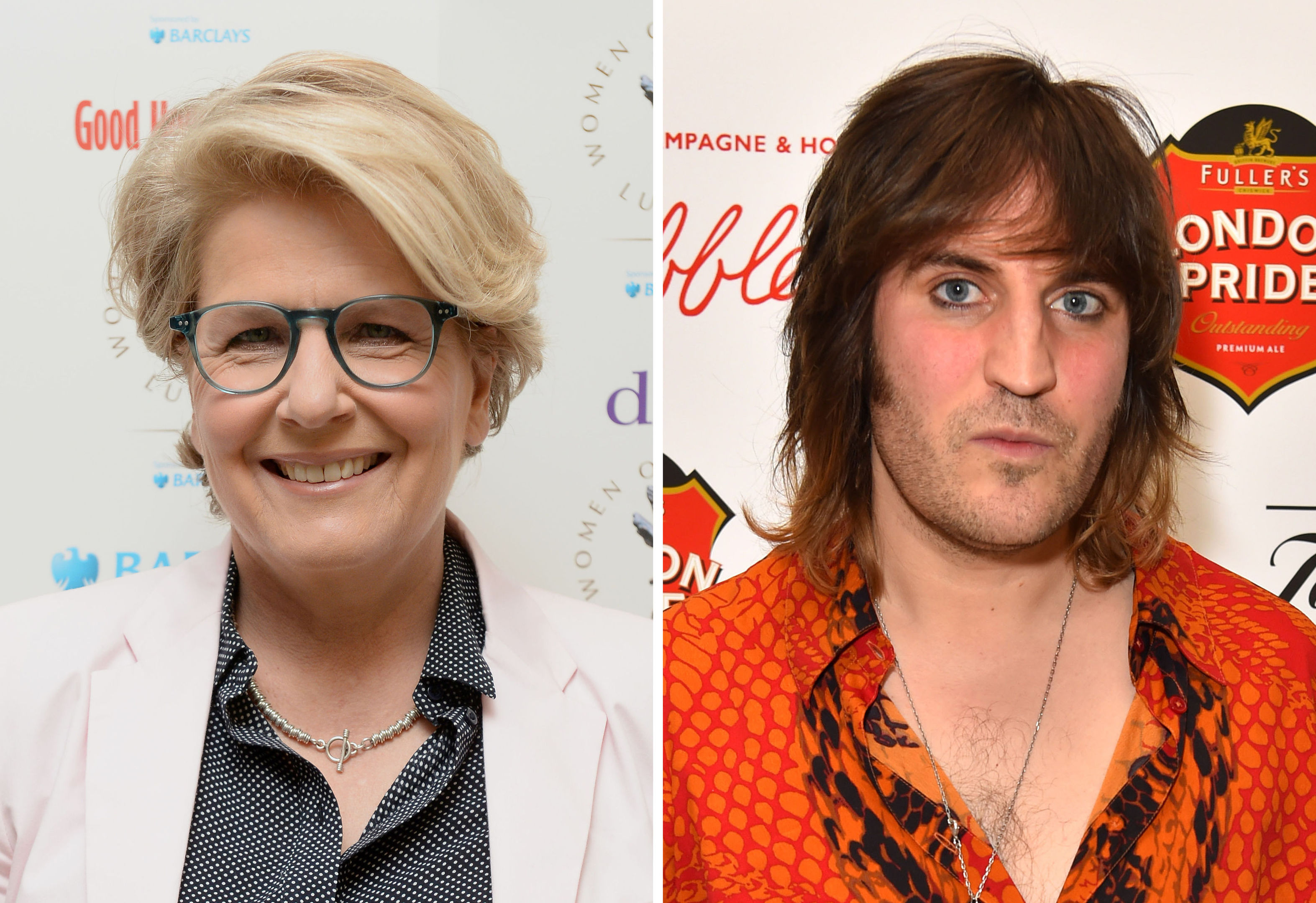 Sandi Toksvig and Noel Fielding