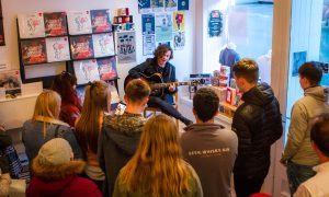 VIDEO: The View's Kyle Falconer goes acoustic for Record Store Day 2017