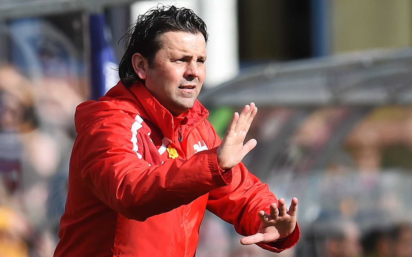 Paul Hartley was sacked after seven straight defeats.