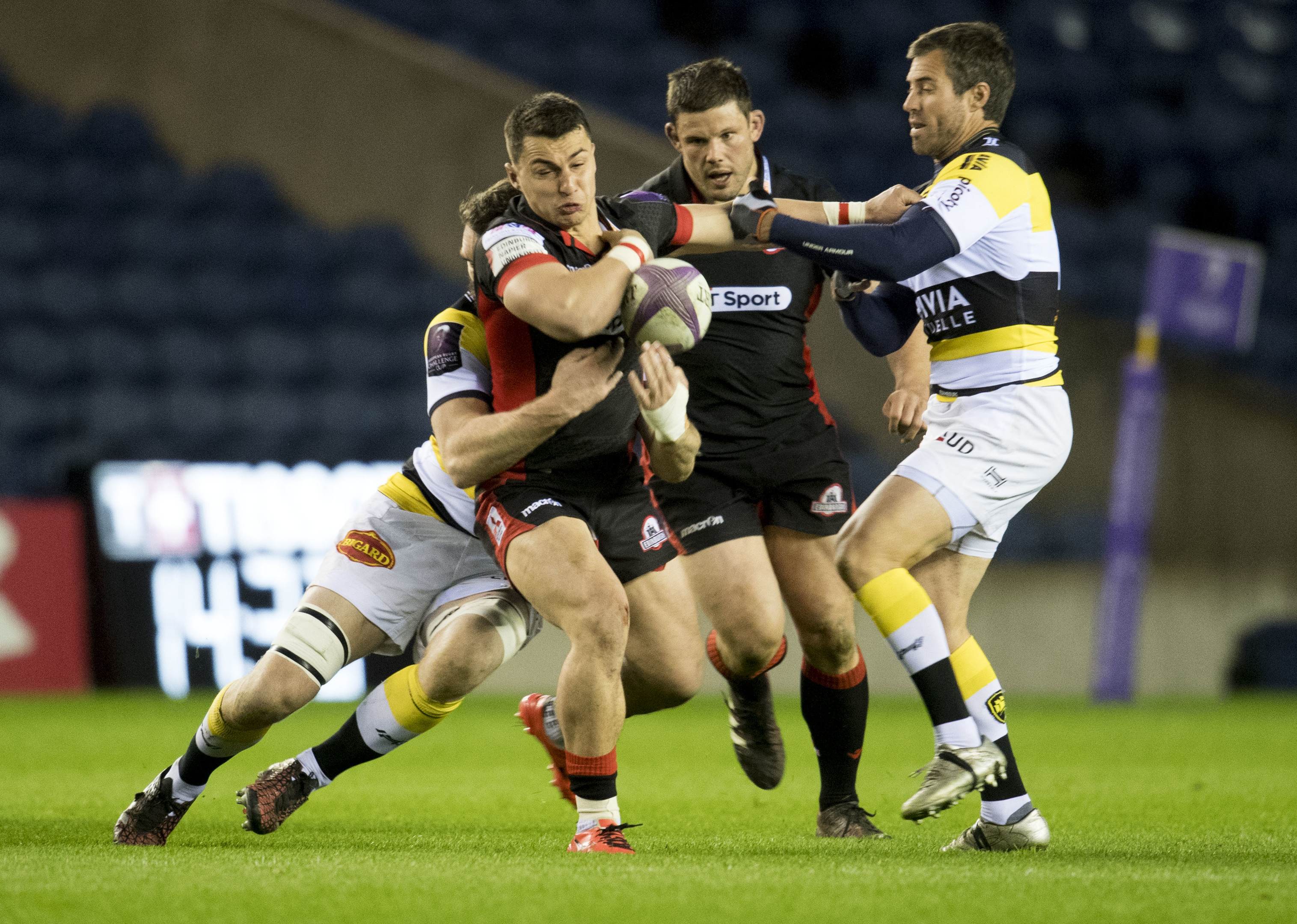 Damien Hoyland has been one of the few bright spots in Edinburgh's poor season.
