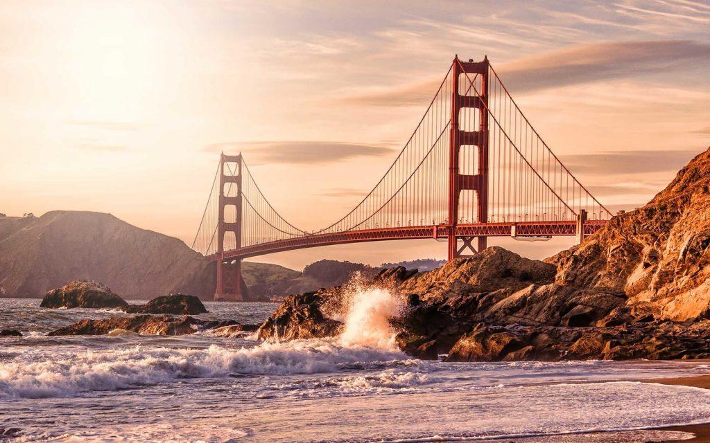 Golden Gate Bridge from Baker Beach, San Francisco