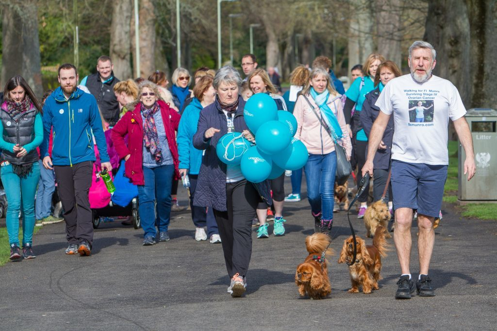 The 5K walk took place at Perths North Inch