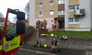Residents evacuated from Kirkcaldy flats after smoke in stairwell