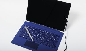 A Surface Pro computer