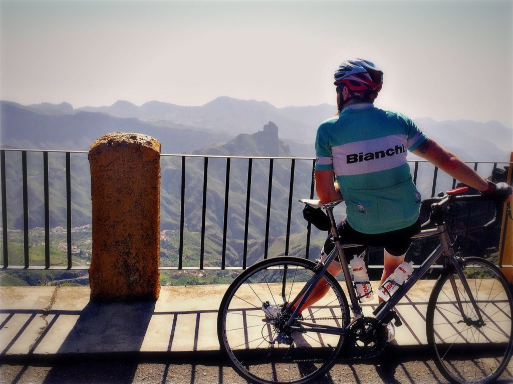 The effort of a climb is worth it for the view - Scot in Gran Canaria