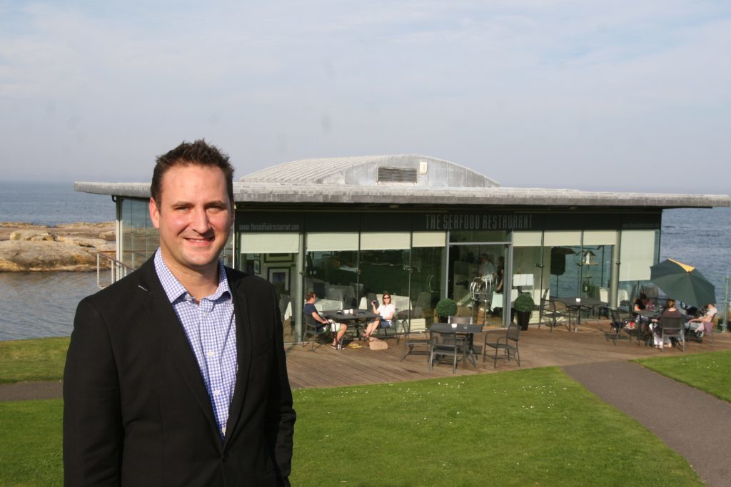 Tim Butler has sold the Seafood Restaurant at St Andrews to concentrate on other business interests.