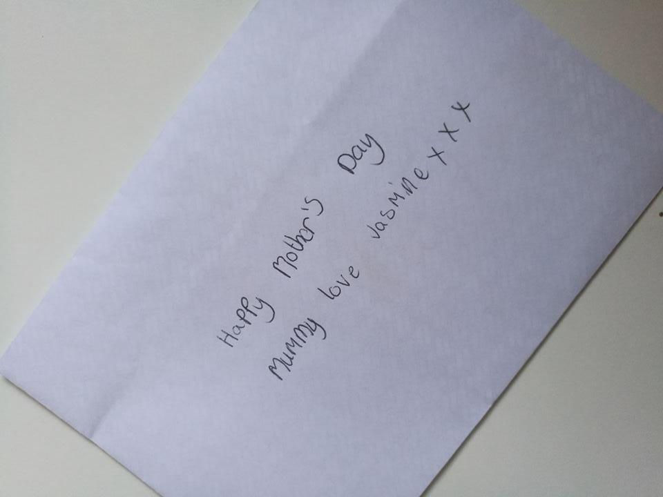 The card was left at Forfar's Lochlands Mill.