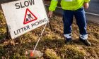 As well as being costly, roadside litter picks can put workers at greater danger.