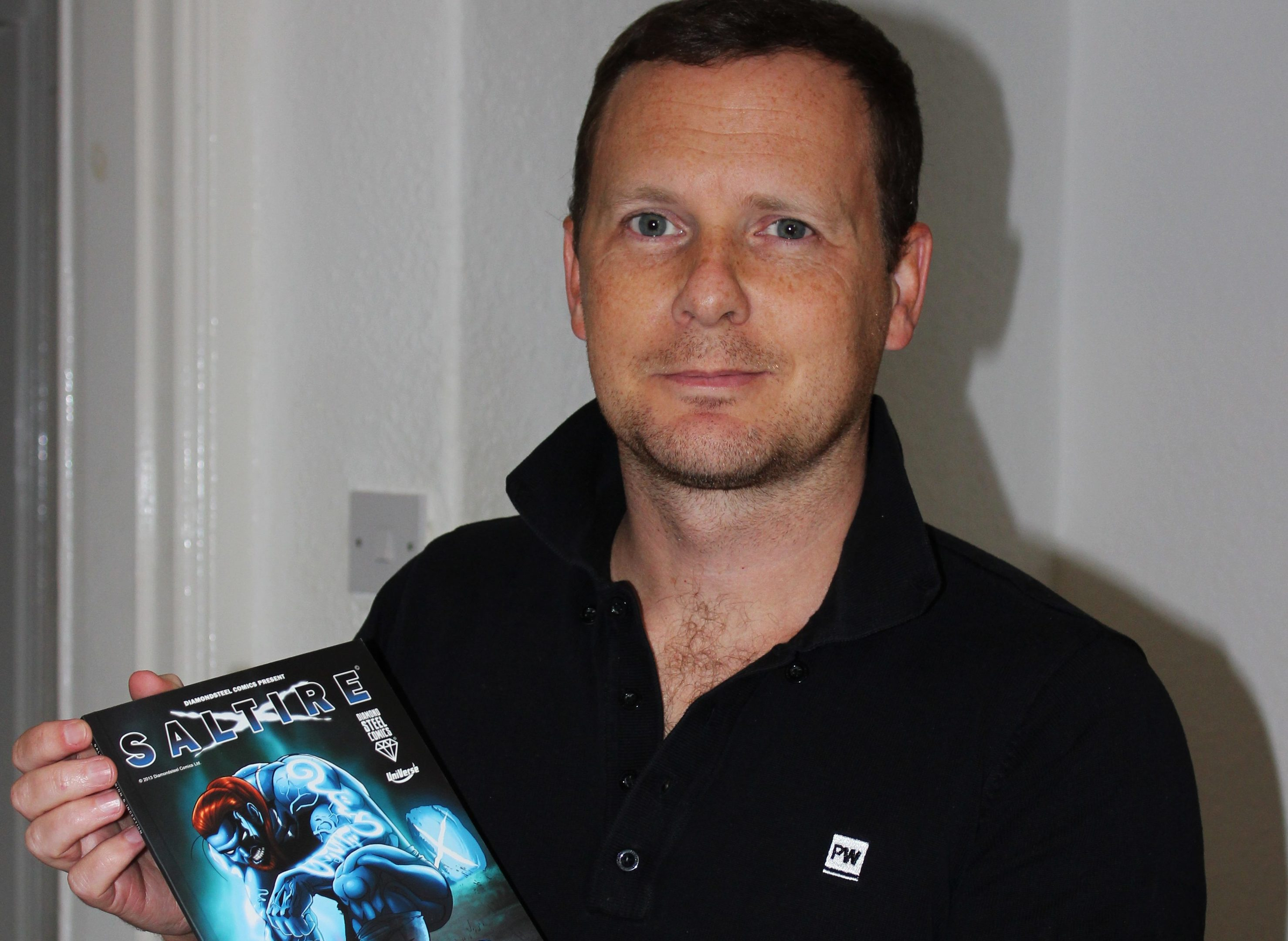 Saltire creator John Ferguson will guest at the first Glenrothes Comic Con