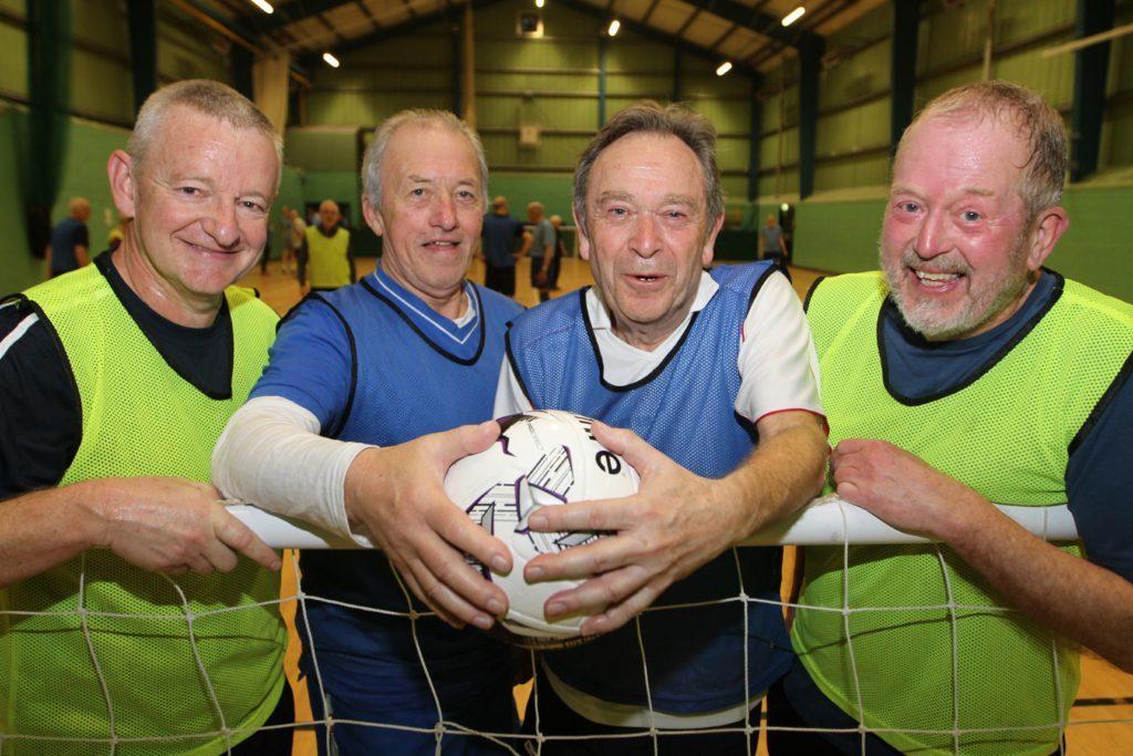 Players Alastair Goldie, John McIntyre, Stephen Benwell and Noel Farrow.